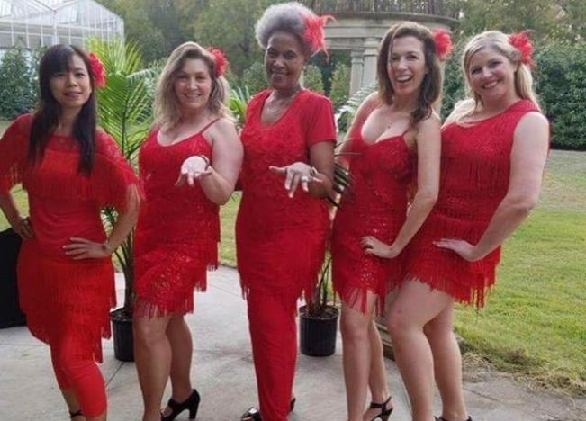 Ladies Solo Salsa!